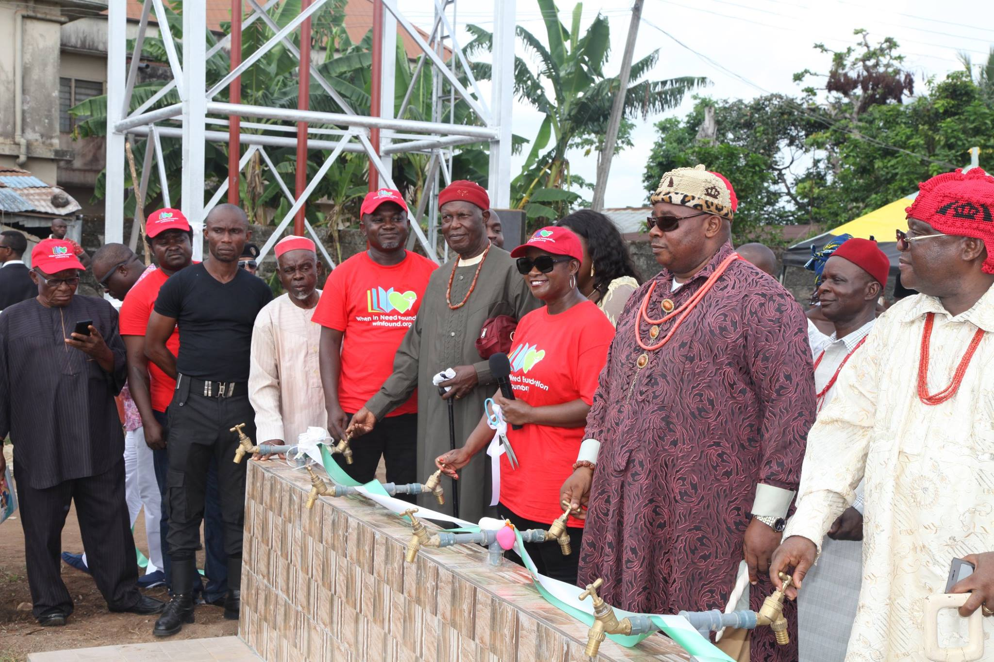 Water Project Commissioning in Ngokpala LGA Imo State  Nigeria
