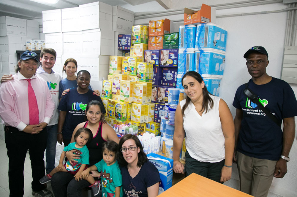 Mission Of Mercy Travels to Madrid for Product Donation